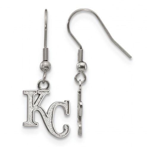 Kansas City Royals Stainless Steel Dangle Earrings