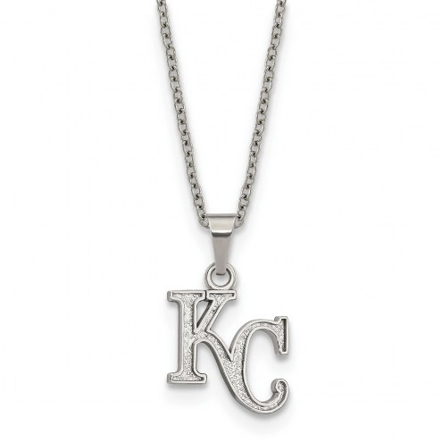 Kansas City Royals Stainless Steel Pendant Necklace