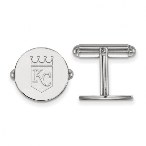 Kansas City Royals Sterling Silver Cuff Links