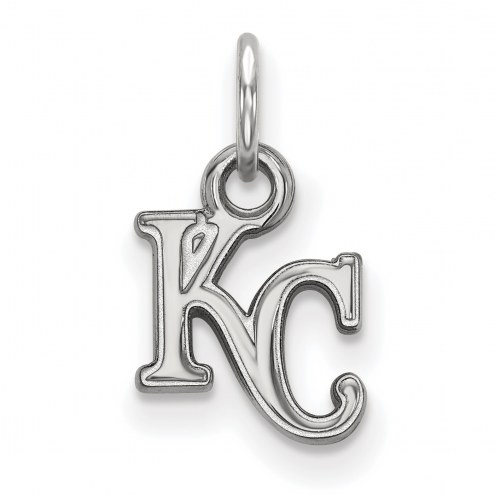 Kansas City Royals Sterling Silver Extra Small Pendant
