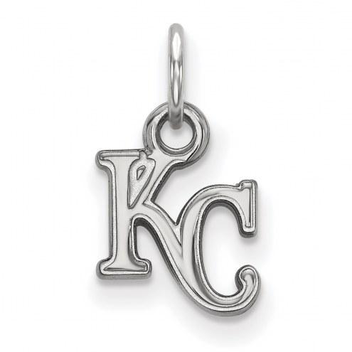 Kansas City Royals Sterling Silver Extra Small Pendant