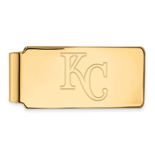 Kansas City Royals Sterling Silver Gold Plated Money Clip