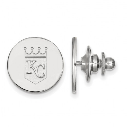 Kansas City Royals Sterling Silver Lapel Pin