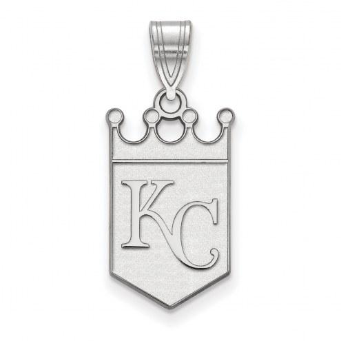 Kansas City Royals Sterling Silver Large Pendant