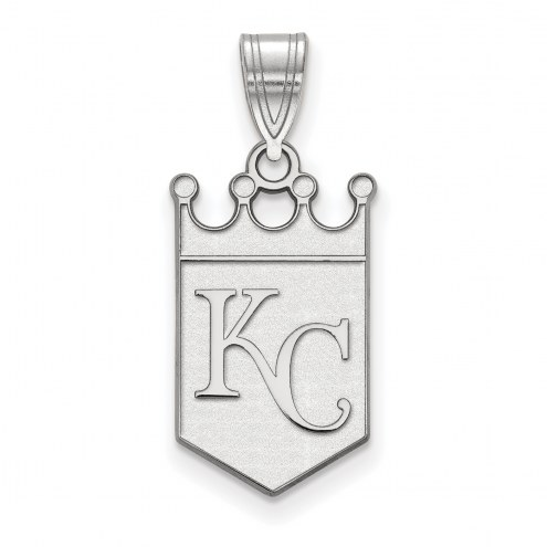 Kansas City Royals Sterling Silver Large Pendant