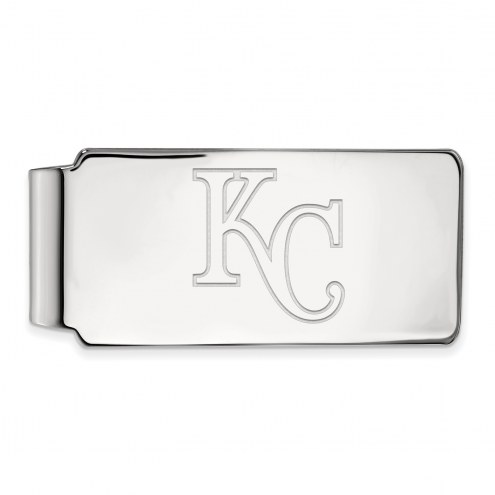 Kansas City Royals Sterling Silver Money Clip