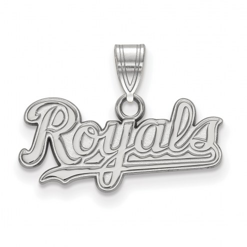 Kansas City Royals Sterling Silver Small Pendant