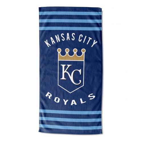 Kansas City Royals Stripes Beach Towel