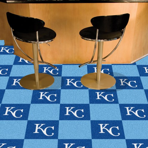 Kansas City Royals Team Carpet Tiles