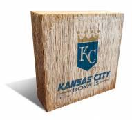 Kansas City Royals Team Logo Block