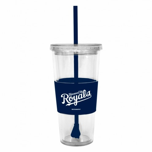 Kansas City Royals Tumbler with Straw