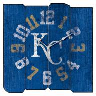 Kansas City Royals Vintage Square Clock
