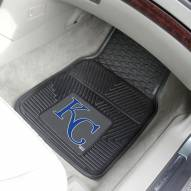 Kansas City Royals Vinyl 2-Piece Car Floor Mats