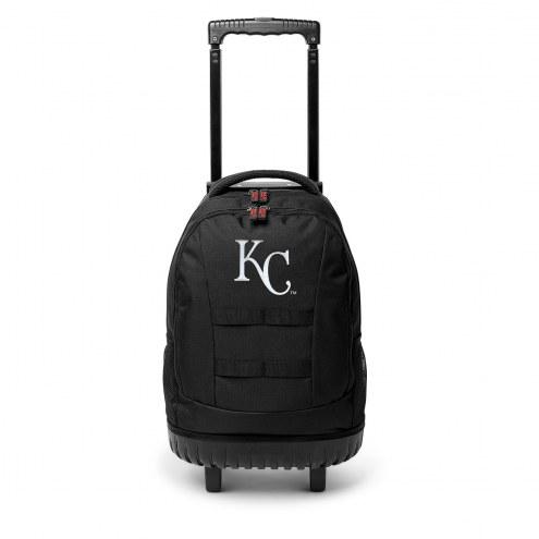MLB Kansas City Royals Wheeled Backpack Tool Bag
