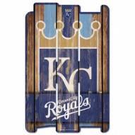 Kansas City Royals Wood Fence Sign