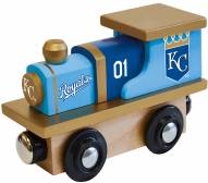 Kansas City Royals Wood Toy Train