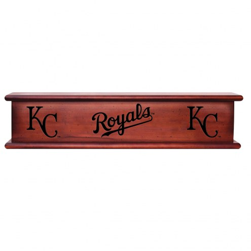 Kansas City Royals Wood Wall Shelf