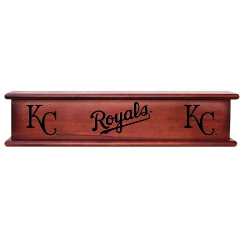 Kansas City Royals Wood Wall Shelf
