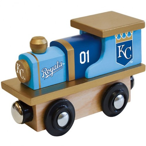 Kansas City Royals Wooden Toy Train
