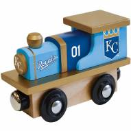 Kansas City Royals Wooden Toy Train