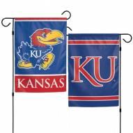 "Kansas Jayhawks 11"" x 15"" Garden Flag"