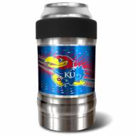 Kansas Jayhawks 12 oz. Locker Vacuum Insulated Can Holder