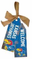 """Kansas Jayhawks 12"""" Team Tags"""