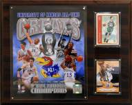 "Kansas Jayhawks 12"" x 15"" All-Time Great Photo Plaque"