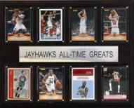 "Kansas Jayhawks 12"" x 15"" Basketball All-Time Greats Plaque"
