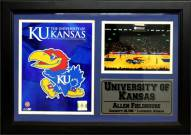 "Kansas Jayhawks 12"" x 18"" Photo Stat Frame"