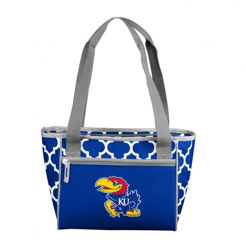 Kansas Jayhawks 16 Can Cooler Tote