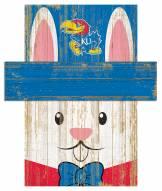 "Kansas Jayhawks 19"" x 16"" Easter Bunny Head"