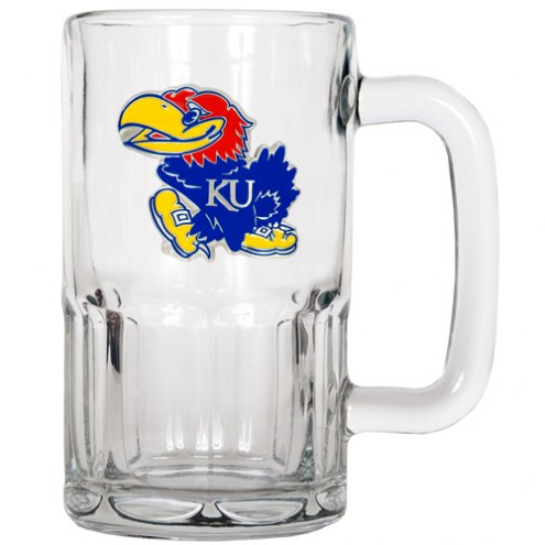 Kansas Jayhawks 20 oz. Root Beer Style Mug