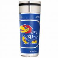 Kansas Jayhawks 22 oz. Hi Def Travel Tumbler