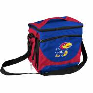 Kansas Jayhawks 24 Can Cooler