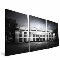 "Kansas Jayhawks 24"" x 48"" Stadium Canvas Print"