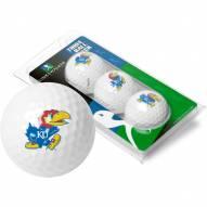 Kansas Jayhawks 3 Golf Ball Sleeve