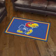 Kansas Jayhawks 3' x 5' Area Rug