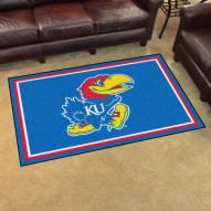 Kansas Jayhawks 4' x 6' Area Rug