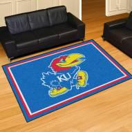 Kansas Jayhawks 5' x 8' Area Rug