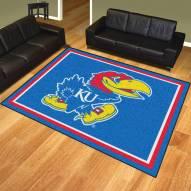 Kansas Jayhawks 8' x 10' Area Rug