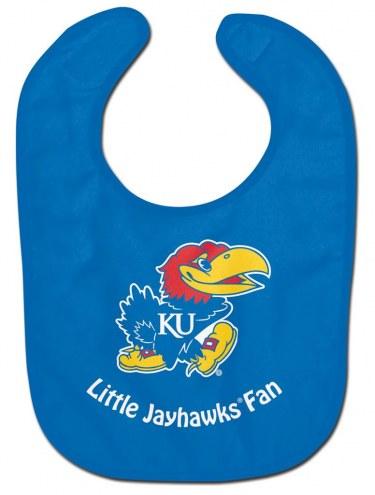 Kansas Jayhawks All Pro Little Fan Baby Bib