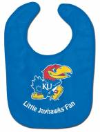 Kansas Jayhawks All Pro Little Fan Baby Bib