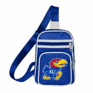 Kansas Jayhawks Mini Cross Sling Bag