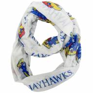 Kansas Jayhawks Alternate Sheer Infinity Scarf