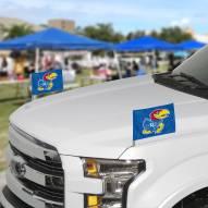 Kansas Jayhawks Ambassador Car Flags