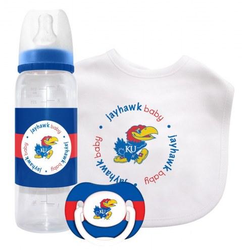 Kansas Jayhawks Baby Gift Set