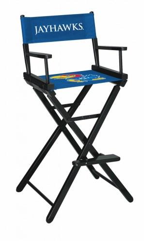 Kansas Jayhawks Bar Height Director's Chair