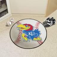 Kansas Jayhawks Baseball Rug