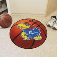 Kansas Jayhawks Basketball Mat
